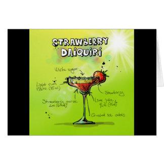 Strawberry Daiquiri Recipe - Cocktail Gift Card