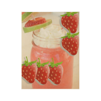 Strawberry daquiri drink womens poster