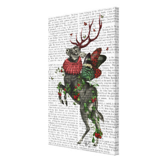 Strawberry Deer Canvas Print