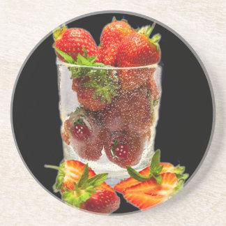 Strawberry Dessert Coaster
