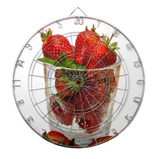 Strawberry Dessert Dartboard