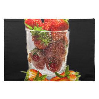 Strawberry Dessert Placemat