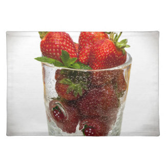 Strawberry Dessert Placemat