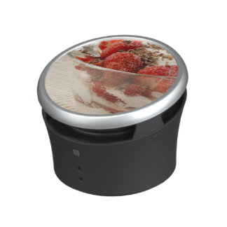 Strawberry Dessert With Fresh Yogurt Speaker