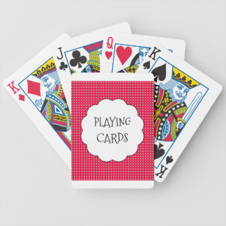 Strawberry-Dream(c)_Checks_Text_ Playing Cards