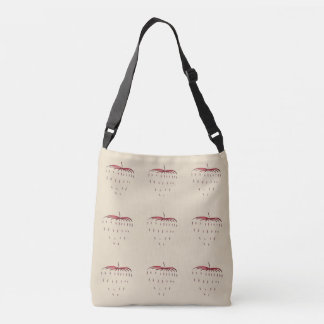 Strawberry Eyes - DesignThinking Crossbody Bag