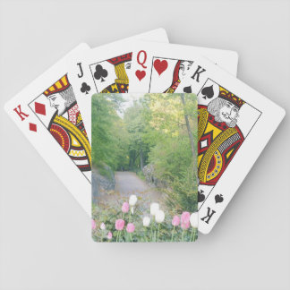 Strawberry Field by Ann Finster Playing Cards