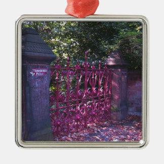 Strawberry Field Gates, Liverpool UK Christmas Ornament