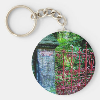Strawberry Field Gates, Liverpool UK. Key Ring