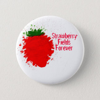 Strawberry Fields 6 Cm Round Badge