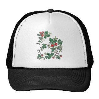 Strawberry Fields Mesh Hats