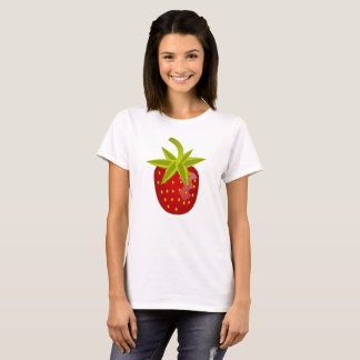 Strawberry Fruit Red Ripe Sweet Berry Fresh T-Shirt