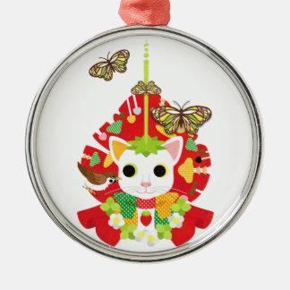 Strawberry great fortune Strawberry Daifuku Christmas Tree Ornament