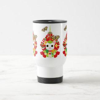 Strawberry great fortune (Strawberry Daifuku) Mug