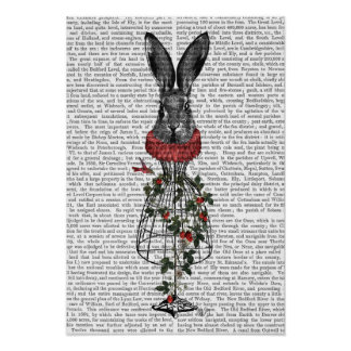 Strawberry Hare Poster