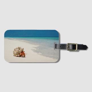 Strawberry Hermit Crab | Coenobita Perlatus Luggage Tag
