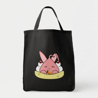 Strawberry Hopdrop Sundae Tote Bags