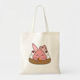 Strawberry Hopdrop Waffle Sundae Canvas Bag