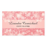 Strawberry Ice Bokeh Business Cards