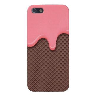 Strawberry Ice Cream Cone iPhone 5/5S Case