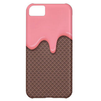 Strawberry Ice Cream Cone iPhone 5C Case