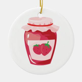 Strawberry Jam Christmas Ornament