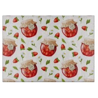 Strawberry Jam Cutting Board