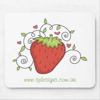 Strawberry Jam Designs Mousepad