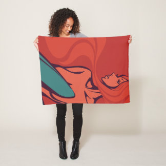 Strawberry Jam Fleece Blanket