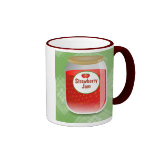 Strawberry Jam Ringer Mug