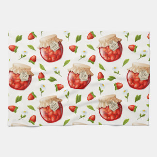 Strawberry Jam Tea Towel