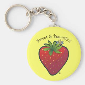 Strawberry Key Chains