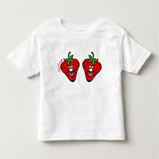 Strawberry *Kids White Shirt