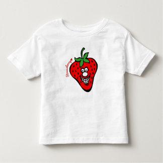 Strawberry *Kids White Tee
