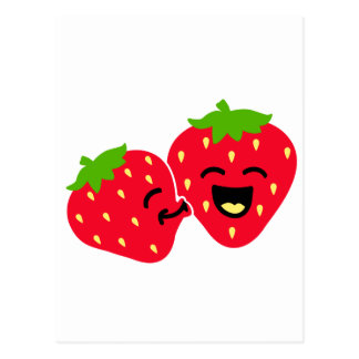 Strawberry Kiss Post Card
