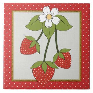 Strawberry Kitchen or Restraunt tile