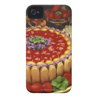 Strawberry lady finger cake iPhone 4 cover