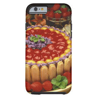 Strawberry lady finger cake tough iPhone 6 case