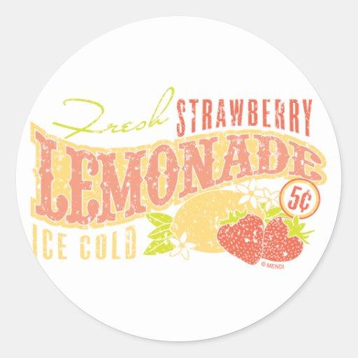 Strawberry Lemonade Sticker