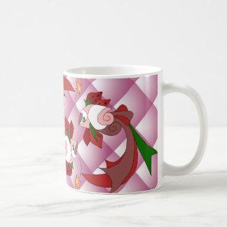 Strawberry Love Mug Pink Quilt Mugs
