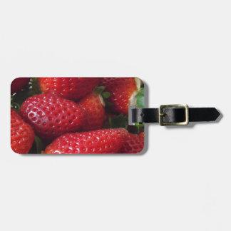 Strawberry Luggage Tag