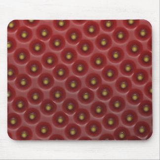 strawberry macro mouse pad