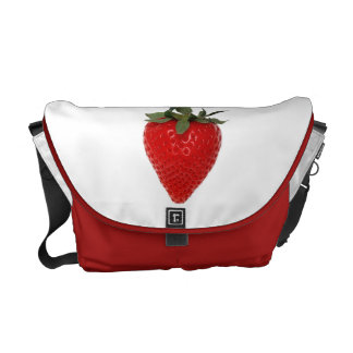 Strawberry Courier Bags