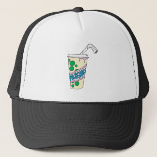 strawberry milkshake trucker hat