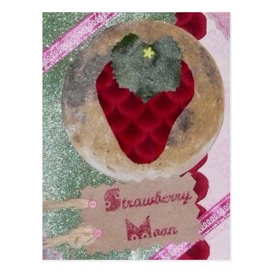 Strawberry Moon Postcard