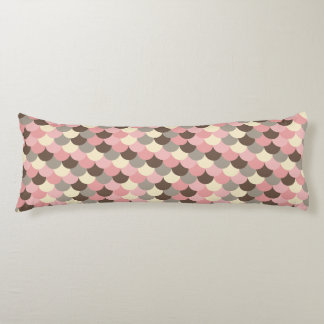 Strawberry Mouse Fish Scale Pattern Body Cushion