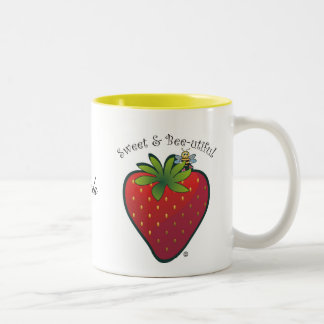Strawberry. Mug