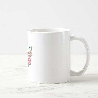 STRAWBERRY CLASSIC WHITE COFFEE MUG
