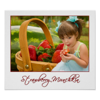 Strawberry Munchkin Poster