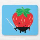 Strawberry-Ninja Mouse Mat